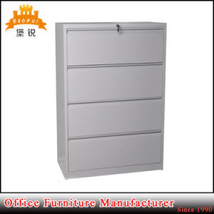 Knocked Down High Quality Grey 4 Drawers Metal File Cabinet pictures & photos