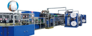 China Full-Servo High Speed Automatic Disposable Baby Pull-up Manufacturing Machine