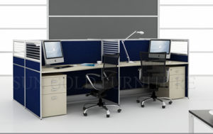 Modern Computer Table Office Workstation, Modular Office Desk (SZ-WS123) pictures & photos