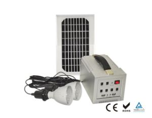 6W Solar Power System for Home Application pictures & photos