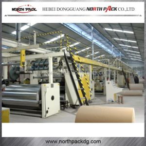 WJ Three color Corrugated Paperboard Production Line pictures & photos