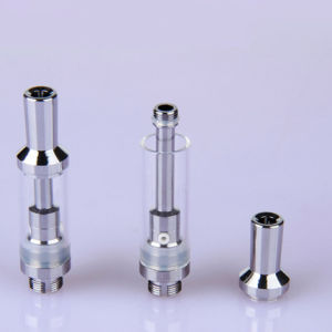 Best Quality Glass Ceramic Coil Cbd Tank Cbd Oil Cartridge pictures & photos