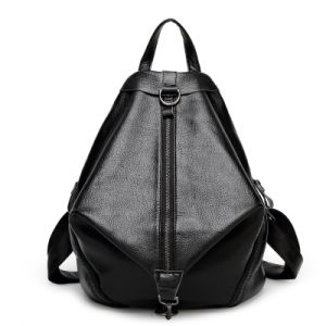2016 Designer Wholesale Leather Women Backpack pictures & photos