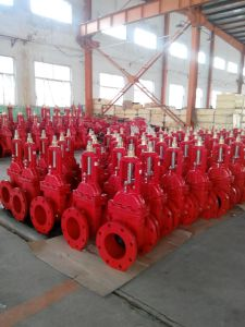 UL/FM 200psi-OS&Y Type Flanged Grooved End Gate Valve (Z481) pictures & photos