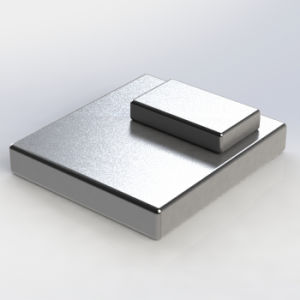 Strongest Grade Sintered Block Permanent Neodymium Magnets pictures & photos