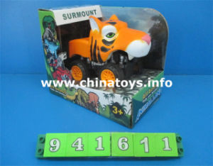 Promotion Gift Plastic Toys Car Friction Animal Car (941617) pictures & photos
