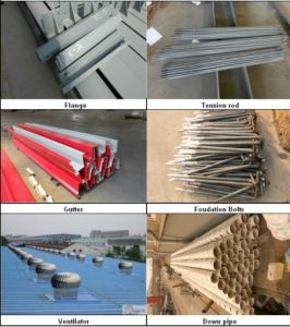 Prefab Large Span Steel Structure for Warehouse and Workshop (ZY268) pictures & photos