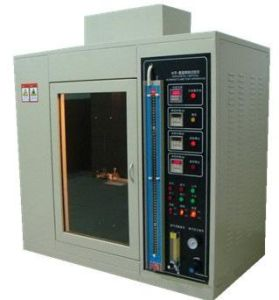UL-94 Flame Retardant Tester--Horizontal and Vertical Flammability Tester pictures & photos