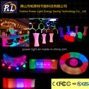 Waterproof Rechargeable Color Changing LED Wedding Furniture pictures & photos