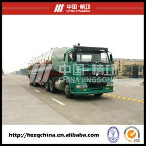 Chemical Liquid Transportation Semi-Trailer, Liquid Nitrogen Truck pictures & photos
