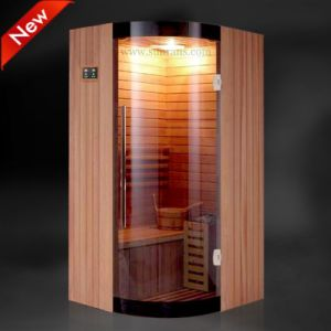 Wooden Steam Sauna Cabinet to Good Health (SR8J3003) pictures & photos
