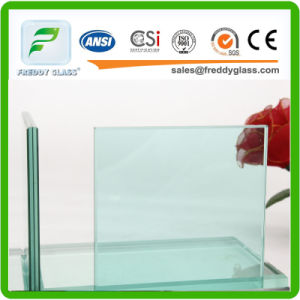 Clear/Milk/White/Clolored Laminated Glass/Tempered Laminated Glass/Tempered Low E Laminated Glass/Colored Toughened Bulletproof Laminated Glass pictures & photos