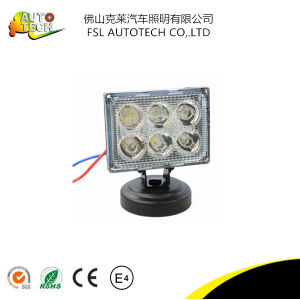 18W Auto Part LED Work Driving Light for Auto Vehicels pictures & photos