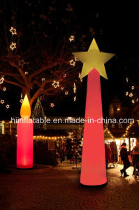 Fashion Party Decor/Event Supply/Stage Supply/LED Decoration Inflatable Candle pictures & photos