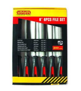 6PC File Set, Steel File, Chain Saw File (WTQG007) pictures & photos