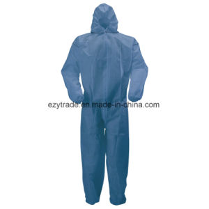 Disposable Protective Nonwoven Medical Body Suit Work Clothes Coveralls pictures & photos