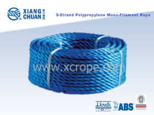 Gl Approved 3 Strand Polypropylene Monofilament Rope PP Mooring Rope pictures & photos