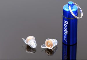 OEM Organic Silicone Earplugs with Filter: Ready-Fit, Re-Usable, Washable pictures & photos