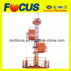 Automatic Control Sc120 Construction Hoist Single Cage pictures & photos
