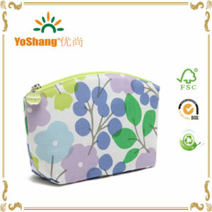 2016 China Supplier Wholesale Customized Fashion Eco-Friendly Canvas Cosmetic Bag Makeup Bag pictures & photos