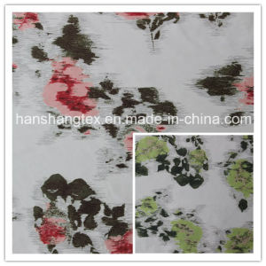 Satin Imitation Memory Fabric with Printed for Garment Fabric(HS-C2096)