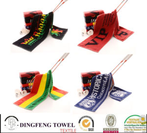 Golf Gifts Customer Embroidery Cotton Velour Golf Towel pictures & photos