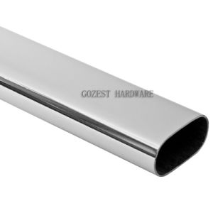 Stainless Steel Pipe with Over Shape Chrome Finish (T0101) pictures & photos