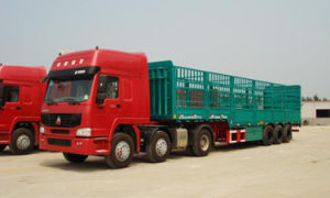 Sinotruck HOWO 8X4 6X4 4X2 Livestock Trailers pictures & photos