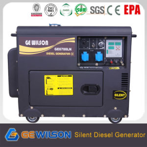Small Silent Diesel Generator Set 5kw to 7kw pictures & photos