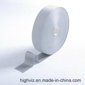 Silver Poly Reflective Tape for Safety Clothing (1002) pictures & photos