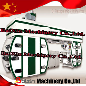 6 Colors Ci Flexographic Printing Machine (Baixin brand) pictures & photos