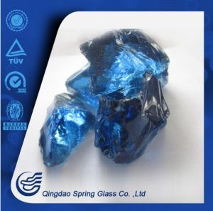 Dark Blue Glass Rocks pictures & photos
