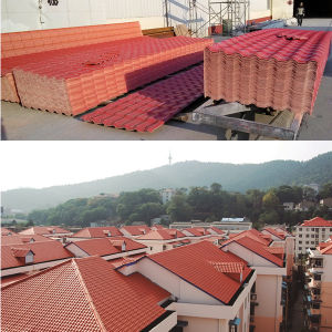 Sun Proof PVC Roofing Sheet pictures & photos