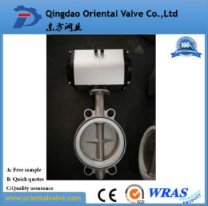 316 Stainless Steel Sanitary Butterfly Valve pictures & photos