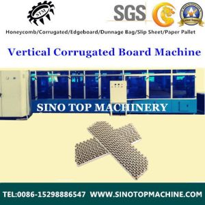 Corrugated Display Shelf Machine pictures & photos
