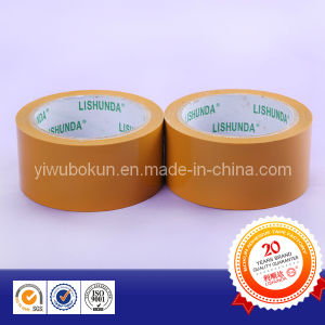 China Yellow Brown Colored BOPP Packing Tape pictures & photos