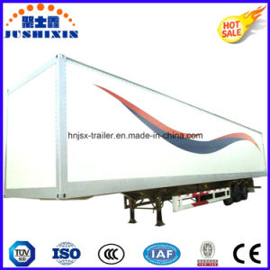 Hot Seller 3 BPW Axle Aluminum Alloy Dry Cargo Semi Truck Utility Van/Box Trailer for Cigarettor Other Bulk Cargos Transport for Sale pictures & photos