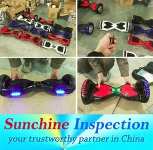 Self Balancing Scooters Quality Inspection Before Shipment pictures & photos