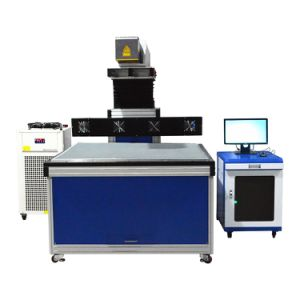 Dp Laser Marking on The Fly Automatic Engraving Machine pictures & photos