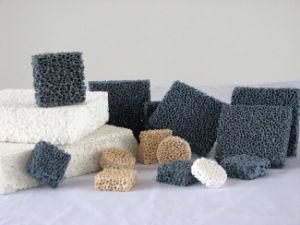 Carborundum Foam Ceramic Filter pictures & photos