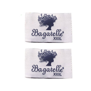 Custom Name Garment Woven Clothing Labels pictures & photos