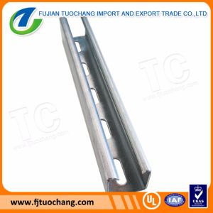 Hot DIP Gi Slotted Strut Channel pictures & photos