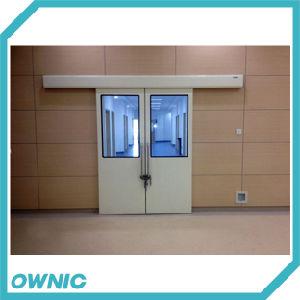 Bi-Parting Hermetic Sliding Door with Big Window pictures & photos