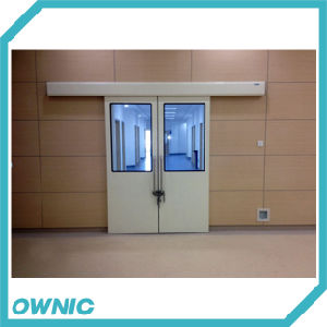 Dmnh01-3 Bi-Parting Hermetic Sliding Door with Big Window pictures & photos