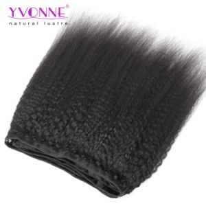 Whoalesale Kinky Straight Virgin Brazilian Remy Human Hair Extension pictures & photos