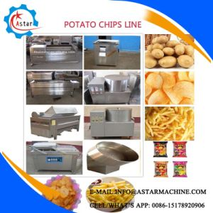 Semi Automatic and Full Automatic Fried Potato Chips Making Line pictures & photos