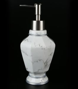 Resin Marble Finish Bathroom Accessories with Bath Set pictures & photos