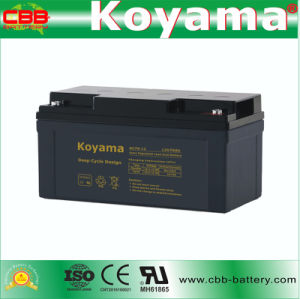 DC70-12 12V70ah Deep Cycle Battery for Aerial Work Platform (AWP) pictures & photos