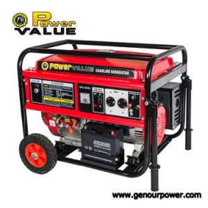 Power Value Portable Gasoline Honda Generator 5kVA Price pictures & photos
