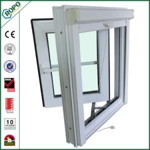 PVC Plastic Hurricane Impact Latest Design Fixed Window with Georgian Bars pictures & photos